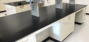 Mặt bàn phenolic kháng hóa chất rắnnhỏ gọn