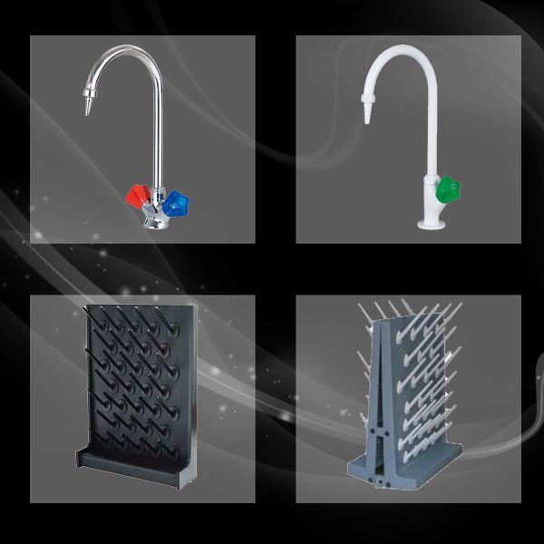 Vòi bồn chậu rửa giá treo dụng cụ phòng thí nghiệm