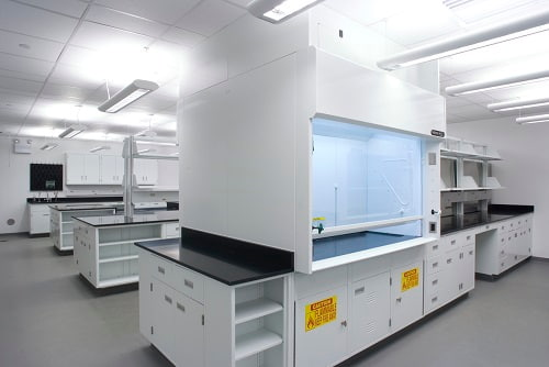 Mặt bàn thí nghiệm khoa học nhựa Epoxy kháng axit mạnh