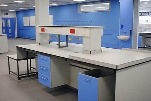 Bàn thí nghiệm cho nội thất phòng thí nghiệm bệnh viện