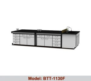 Bàn thí nghiệm trung tâm 4 hộc tủ BTT-1130F