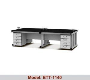 Bàn thí nghiệm trung tâm 2 hộc tủ BTT-1140