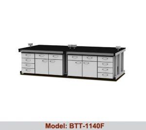 Bàn thí nghiệm trung tâm 4 hộc tủ BTT-1140F