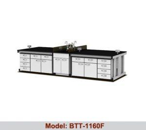 Bàn thí nghiệm trung tâm 1 bàn chậu rửa BTT-1160F