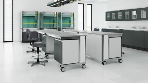 Hệ thống tủ ghế bàn thí nghiệm di động linh hoạt