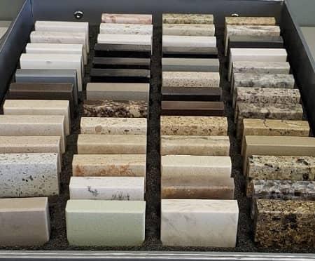 Ứng dụng tính năng cấu hình vật liệu bề mặt Solid Surface