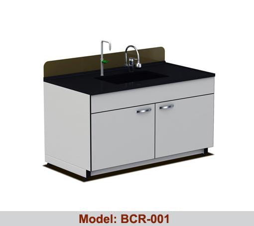 Bàn chậu rửa thí nghiệm đơn BRC-001