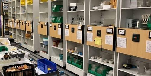Giải pháp lưu trữ cho phòng thí nghiệm của bạn
